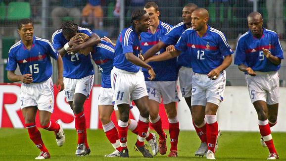 France's national football team players