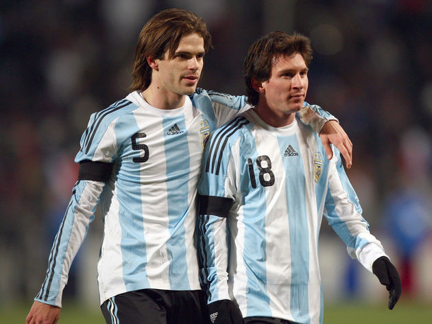Lionel Messi,Fernando Gago