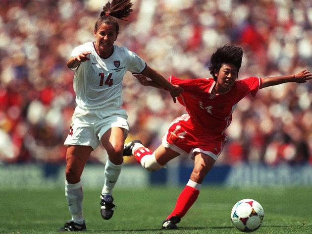 FRAUEN WM 1999 FINALE USA - CHINA 5:4 n.E.