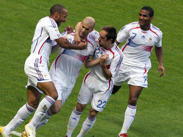 French forward Thierry Henry, French mid