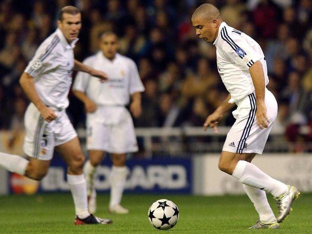 Ronaldo,Zinedine Zidane