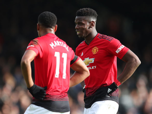Paul Pogba,Anthony Martial