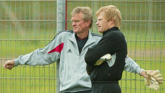 Fussball: 1. Bundesliga 04/05, FC Bayern Muenchen/Training