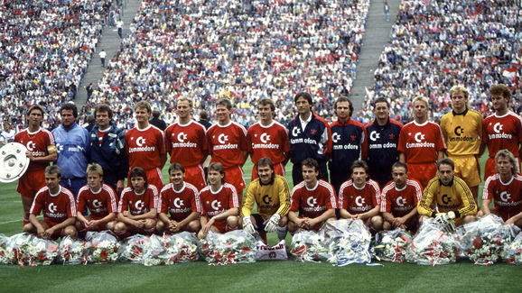 Fussball: 1. Bundesliga 89/90