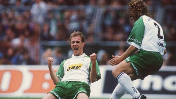 FUSSBALL: 1. BUNDESLIGA 95/96 SV WERDER BREMEN