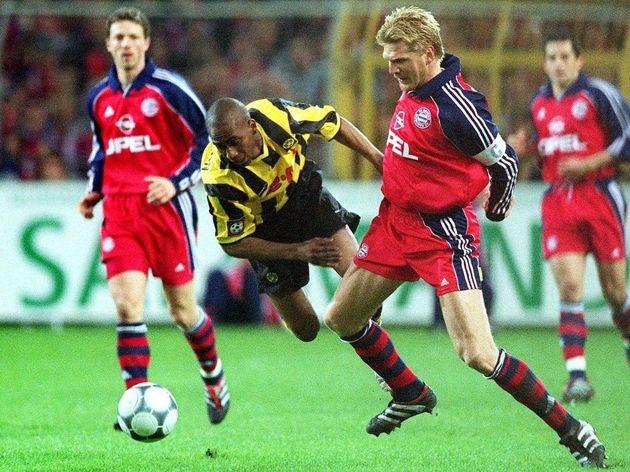 FUSSBALL/BORUSSIA DORTMUND - FC BAYERN MUENCHEN