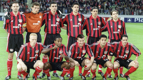 FUSSBALL: CHAMPIONS LEAGUE 01/02 BAYER 04 LEVERKUSEN