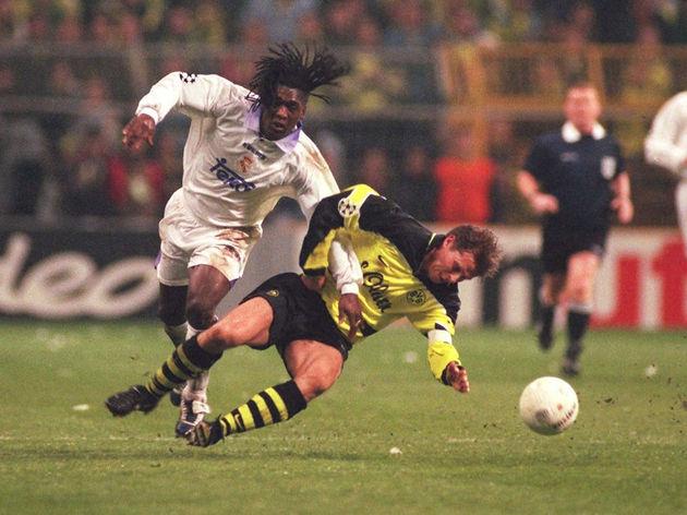 FUSSBALL: CHAMPIONS LEAGUE 97/98 BORUSSIA DORTMUND