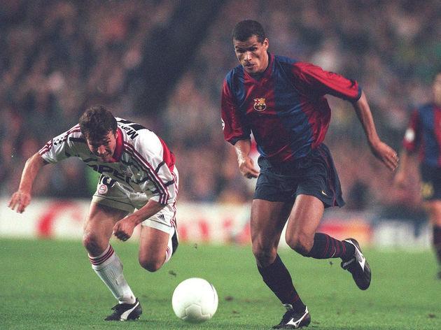 FUSSBALL: CHAMPIONS LEAGUE 98/99 FC BARCELONA