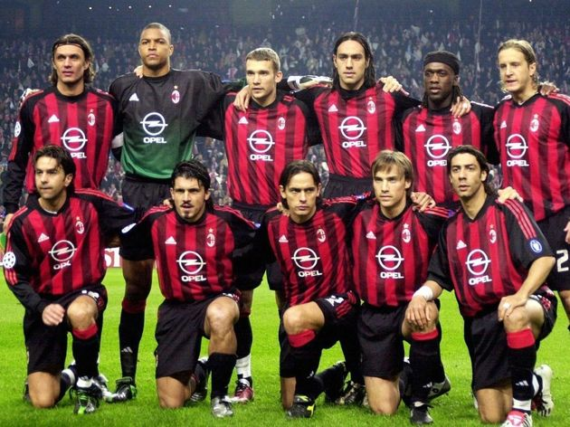 Fussball: CL 02/03, Ajax Amsterdam - AC Mailand 0:0