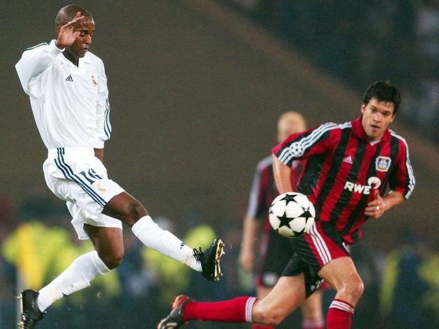 FUSSBALL: CL FINALE 2002, BAYER 04 LEVERKUSEN
