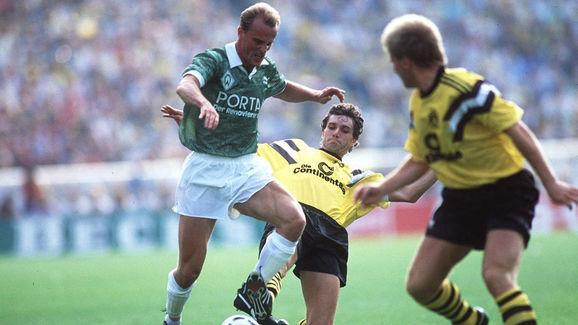 FUSSBALL: DFB POKAL 88/89