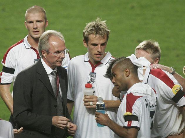 Fussball: EM 2004 in Portugal, POR-ENG
