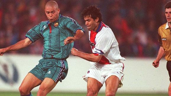 FUSSBALL: EUROPAPOKAL DER POKALSIEGER FINALE 14.05.1997