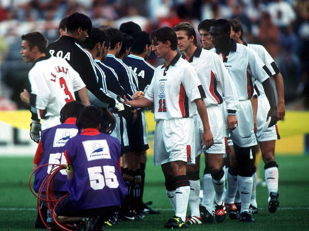 FUSSBALL: WM FRANCE 98 ACHTELFINALE St.Etienne, 30.06.98