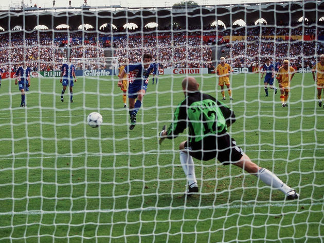 FUSSBALL: WM FRANCE 98 Bordeaux, 30.06.98