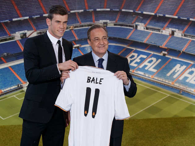 Florentino Perez,Gareth Bale