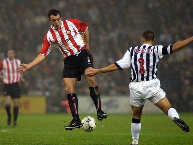 Gavin McCann of Sunderland in action