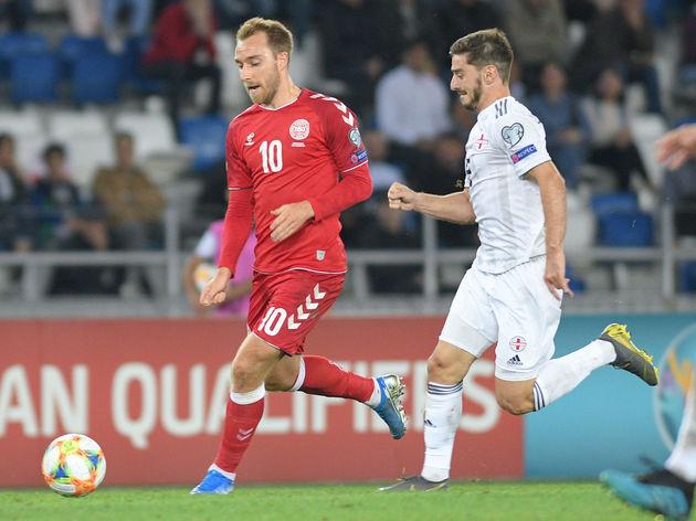 Georgia v Denmark  - UEFA Euro 2020 Qualifier