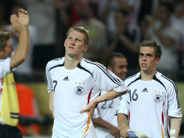 German midfielder Bastian Schweinsteiger