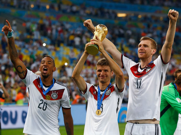 Thomas Mueller,Per Mertesacker,Jerome Boateng