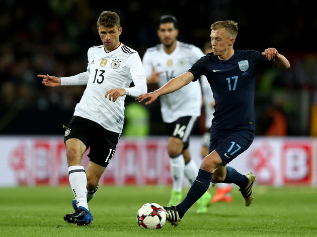 Thomas Mueller,James Ward Prowse