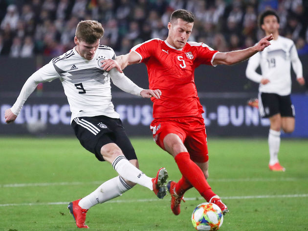 Timo Werner,Uros Spajic
