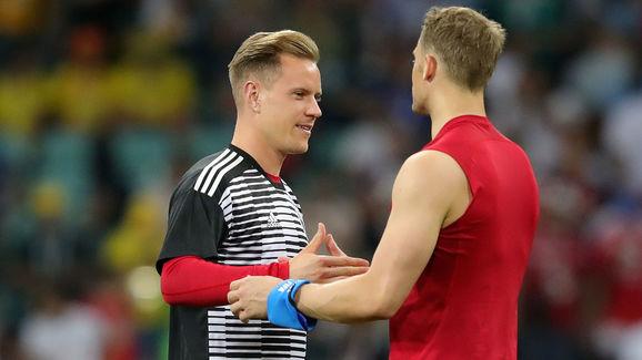 Ter Stegen lên tiếng trước tin đồn mâu thuẫn với Neuer ở tuyển Đức