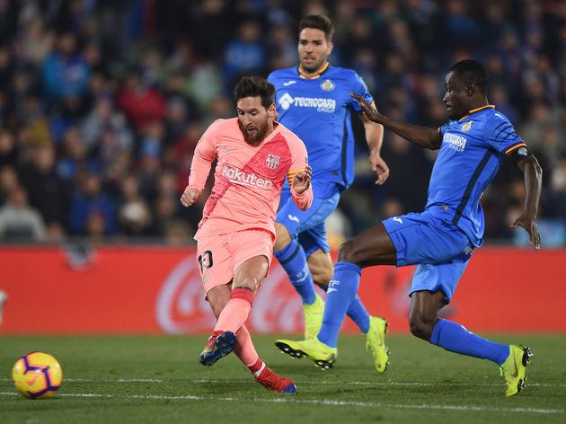 Djene Dakonam Ortega,Lionel Messi