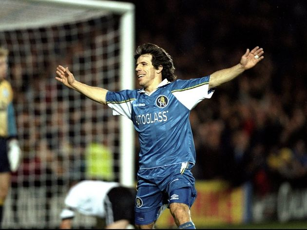 Gianfranco Zola of Chelsea