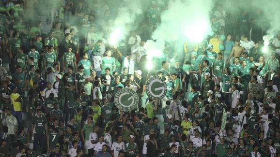 Goias v Palmeiras - 2010 Copa Nissan Sudamericana