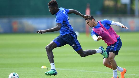 Hamburger SV Training Session