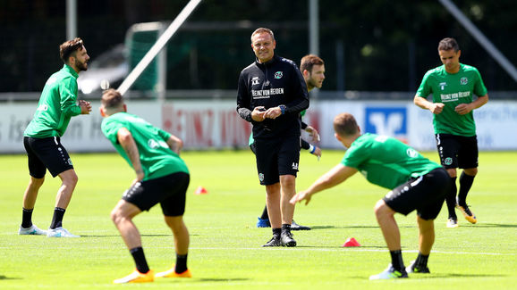 Hannover 96 Trainigsession