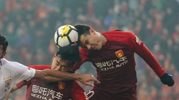 Hebei China Fortune v Shandong Luneng Taishan - 2018 China Super League