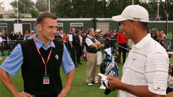Andriy Shevchenko,Tiger Woods