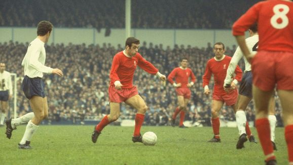 Ian Callaghan of Liverpool