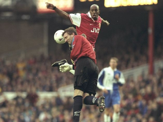 Ian Wright and  Tim Flowers