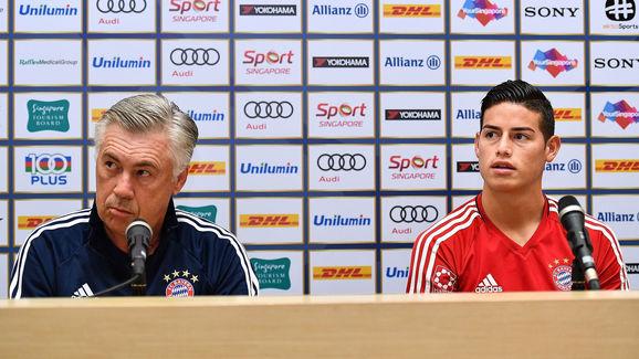 James Rodriguez,Carlo Ancelotti