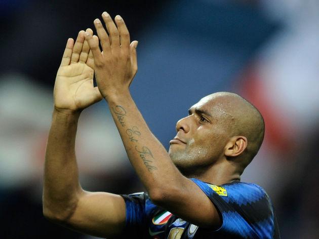 Inter Milan's Brazilian defender Maicon