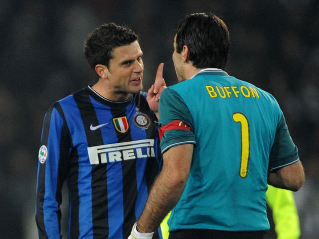 Inter Milan's Brazilian midfielder Thiag