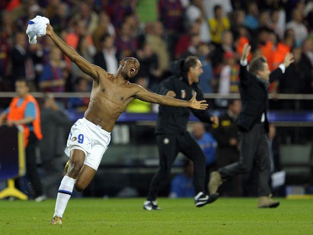 Inter Milan's Camoroonian forward Samuel
