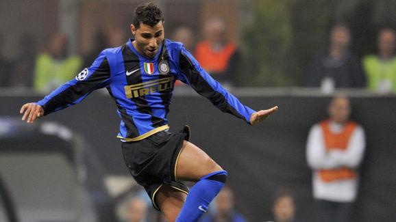 Inter Milan's Portuguese midfielder  Ric