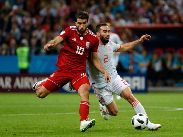 Iran v Spain: Group B - 2018 FIFA World Cup Russia  Nottingham Forrest Confirm Arrival of Iran International Karim Ansarifard process url https 3A 2F 2F90min images original