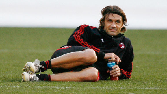 Italian football club AC Milan defender