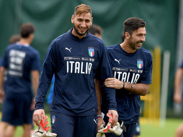 Gianluigi Buffon,Gianluigi Donnarumma