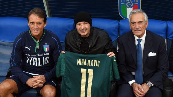 Roberto Mancini,Sinisa Mihajlovic