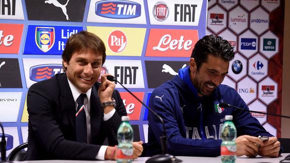 Antonio Conte,Gianluigi Buffon