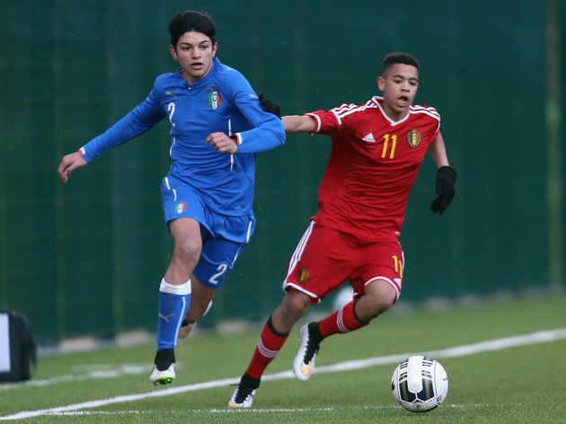 Italy U15 v Belgium U15 - International Friendly