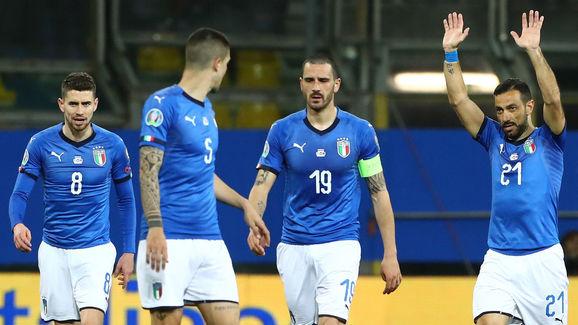 Fabio Quagliarella,Frello Filho Jorge Luiz Jorginho,Gianluca Mancini,Leonardo Bonucci