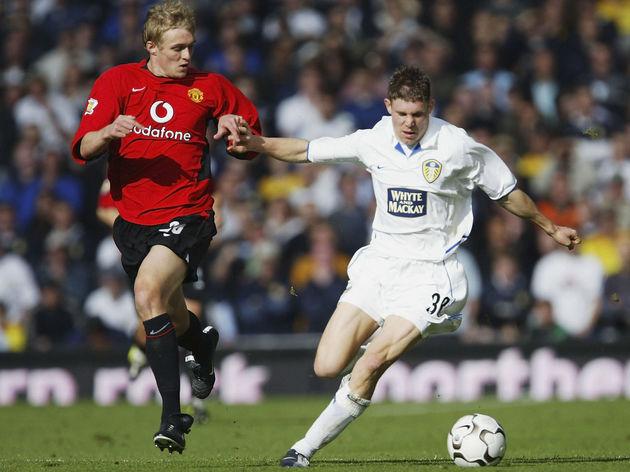 James Milner and Darren Fletcher